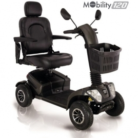 Scooter Eléctrico MOBILITY 120 · IVA 4% para Minusvalía del 33% o Superior