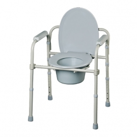 Silla WC 3 en 1 Plegable