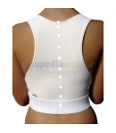 Corrector Postural  CHEPPING UP Espaldera Transpirable Blanco o Gris