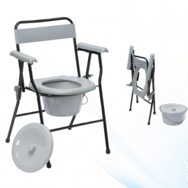 Silla Plegable con WC Drive