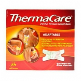 Thermacare Parches Térmico  Adaptable 3 unidades.