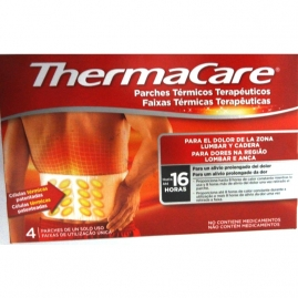 Thermacare Parches Térmico  Zona Lumbar Y Cadera 4 U.