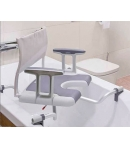 Asiento Bañera Giratorio AQUATEC SORRENTO Invacare Base Ajustable