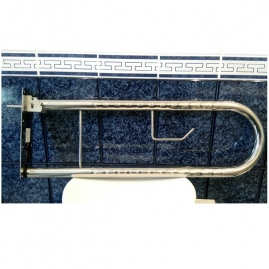 Asidero Abatible de Pared Acero Inoxidable ORTHOS 78 cm.