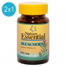 Alcachofa 350 mg. 50 Capsulas 2x1 Nature Essential