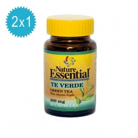 TE VERDE 400 mg. 50cápsulas 2x1 Nature Essential
