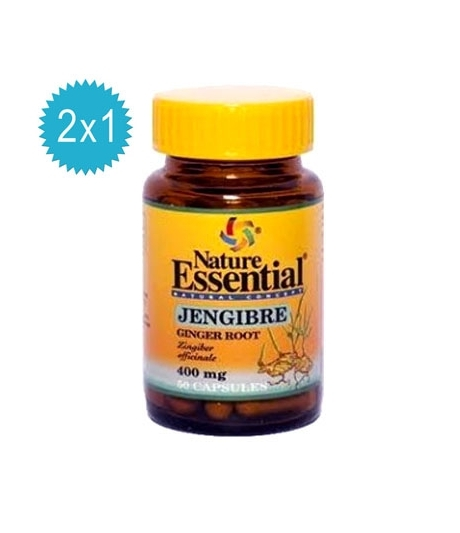 Jengibre 400 mg. 50 Cápsulas 2x1 Nature Essential