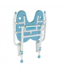 Asiento Ducha Abatible HAITI Color Blanco