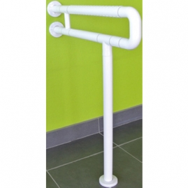 Asidero Suelo Pared Regulable ILIADE de Acero Inoxidable y Nylon