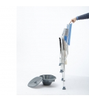 Silla de Ducha con WC Plegable  AQUATIC