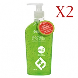 Farline Bodygel Aloe Vera Duplo  Pack de 2 x 250 ml